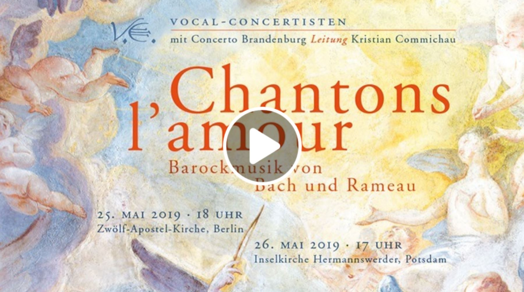 Chantons l'amour Video